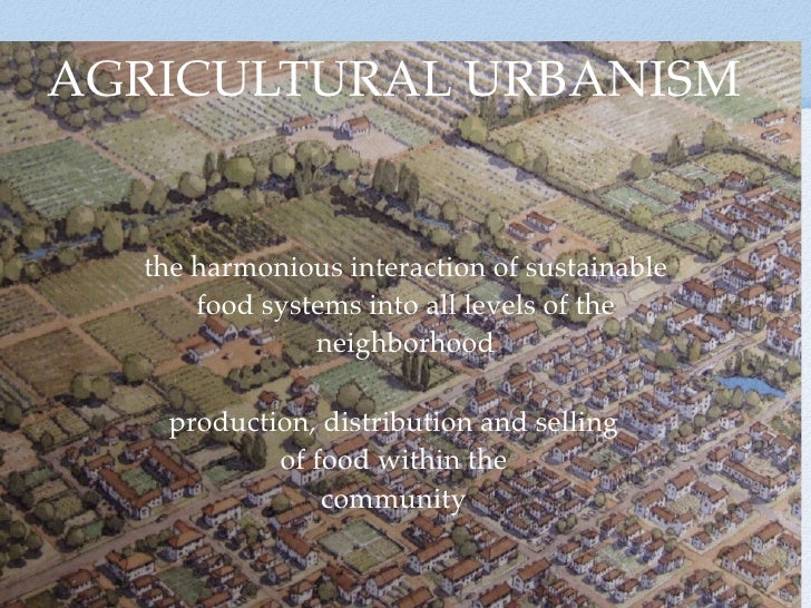 AGRICULTURAL URBANISM      DRAWING BY JAMES WASSELL  T1     T2                                     the harmonious interact...