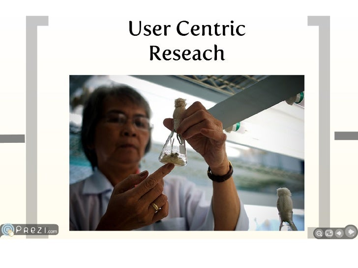 User-centric research Slide 3