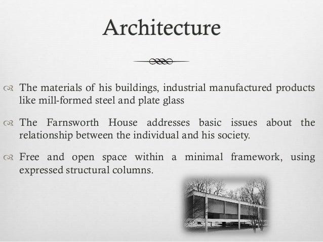 Farnsworth house Construction Details Slide 3