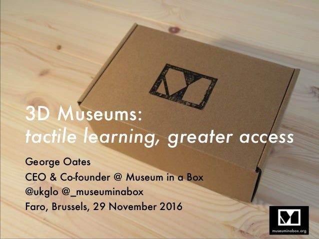 3D Museums:
