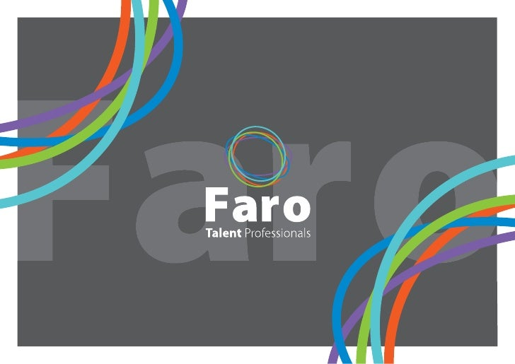 CONTENTS About Faro Recruitment Group .......... 3/4 Our Commitment .........................................................