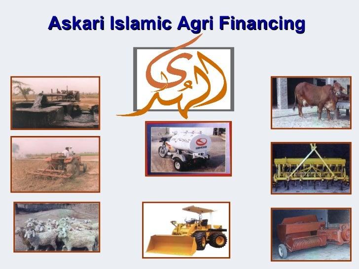 Askari Islamic Agri Financing