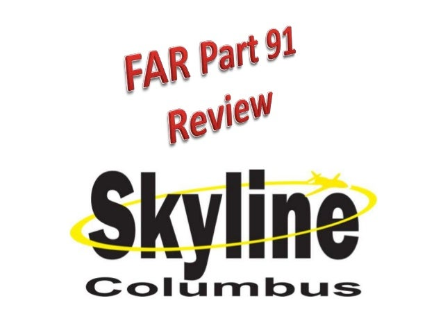 How to Remember the Reg's• Part 61  – All the ways you can get your Pilot Certificate.• Part 91  – All the ways the FAA ca...