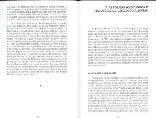 Farr, r. m.   as raízes da psicologia social moderna capitulo 7