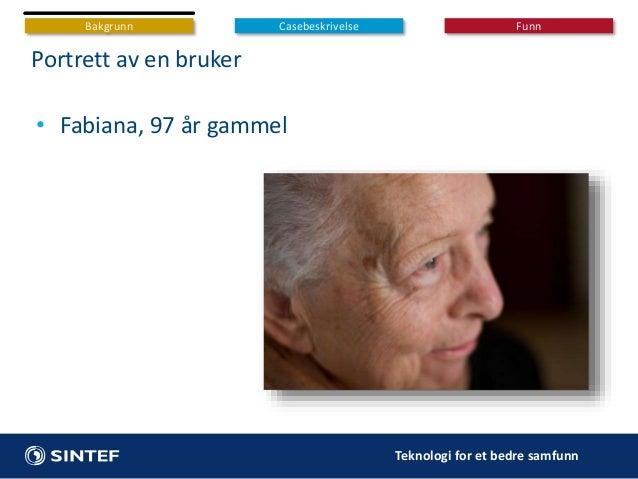 Forebygging av fallskader hos eldre: IoT-løsninger i et sosio-teknisk perspektiv Slide 3