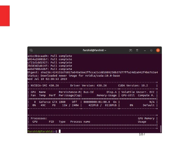 Deep Learning for Computer Vision in Ubuntu 19