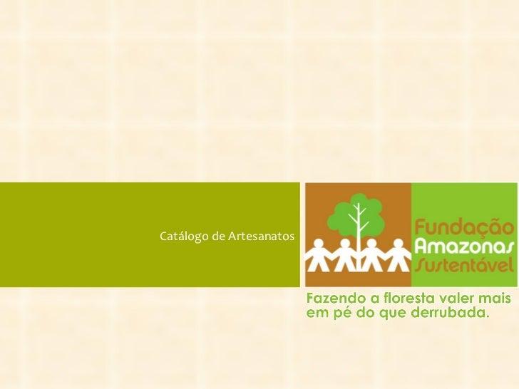 Catálogo de Artesanatos