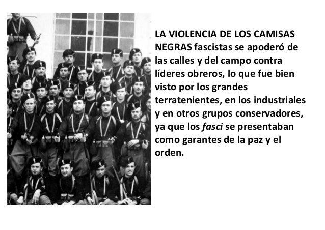 Resultado de imagen de fascismo italiano violencia