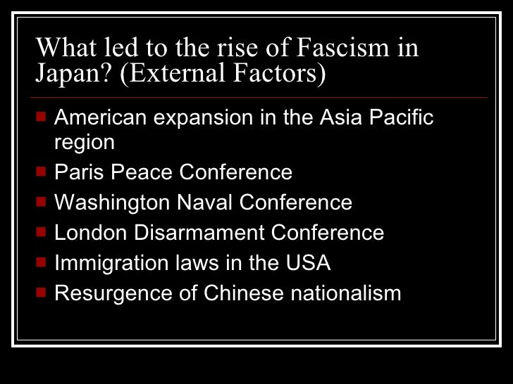 fascism in japan How is fascism different from communism what makes a country/leader fascist why japan short history of japan the meiji government matthew perry opened up japan sakkoku taisho democracy showa period japan at the forefront of democracy: in 1922 women were allowed to attend political rallies and.