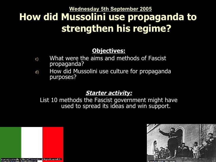 how did the nazis use propaganda Film and propaganda: the lessons of the nazi  leiser's film provides a good overview of the clever use of film by the nazis to promote  propaganda films.
