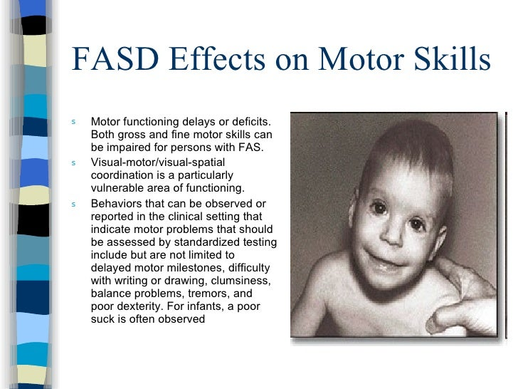 Fetal alcohol spectrum disorder for Adhd and fine motor skills