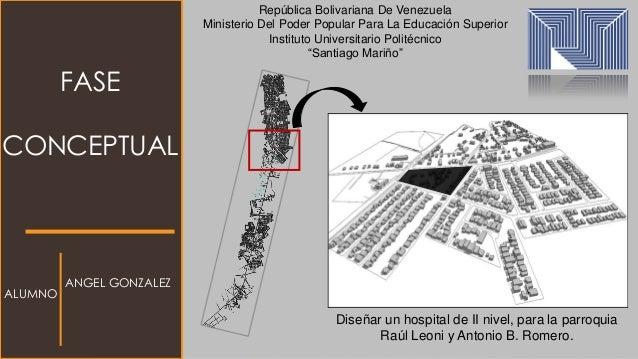 FASE CONCEPTUAL República Bolivariana De Venezuela Ministerio Del Poder Popular Para La Educación Superior Instituto Unive...