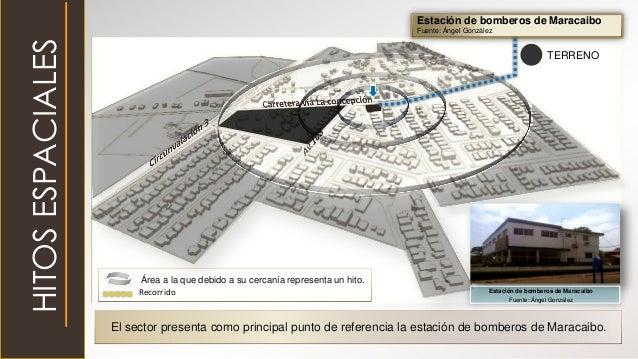 HITOSESPACIALES Estación de bomberos de Maracaibo Fuente: Ángel González El sector presenta como principal punto de refere...