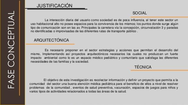 JUSTIFICACIÓN SOCIAL La interacción diaria del usuario como sociedad es de poca influencia, al tener este sector un uso ha...