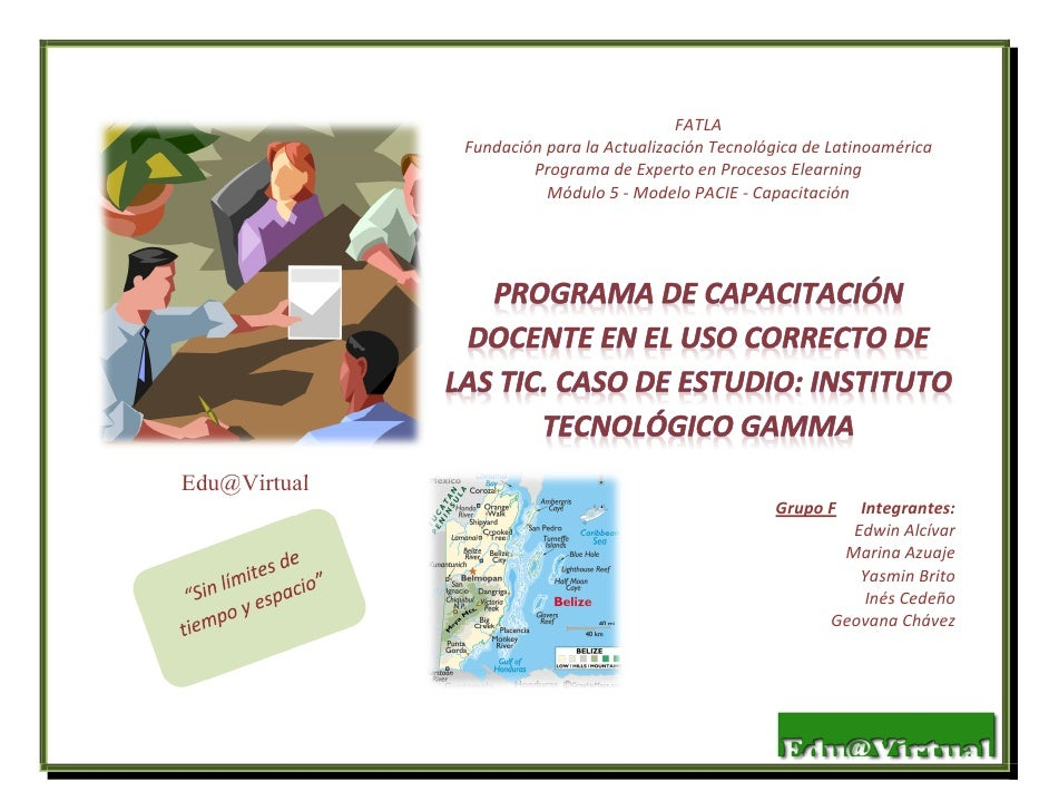 FATLA              Fundación para la Actualización Tecnológica de Latinoamérica                      Programa de Experto e...