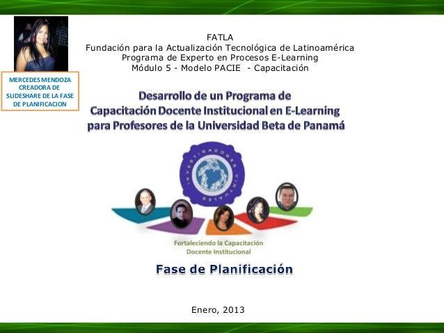 FATLA                        Fundación para la Actualización Tecnológica de Latinoamérica                               Pr...