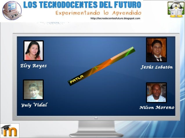 Jesús Lobatón Nilson Moreno Yuly Vidal Elsy Reyes