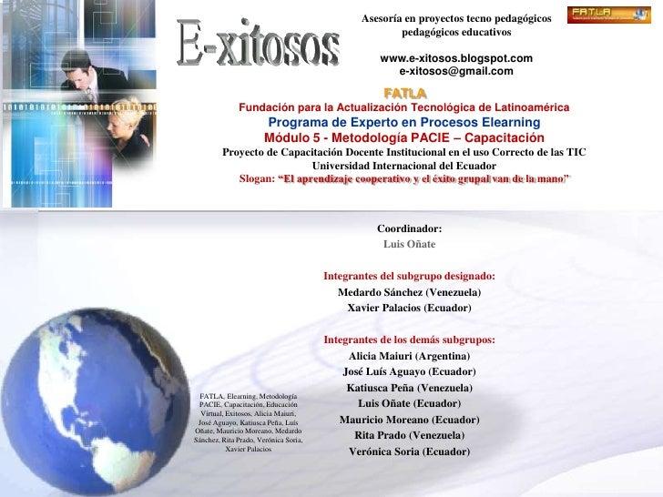 Asesoría en proyectos tecno pedagógicos                                                       pedagógicos educativos      ...
