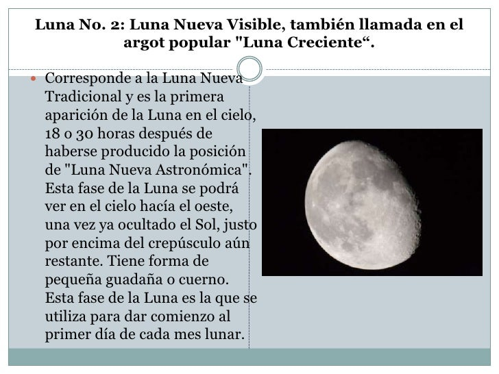 Fases de la luna for En que luna estamos