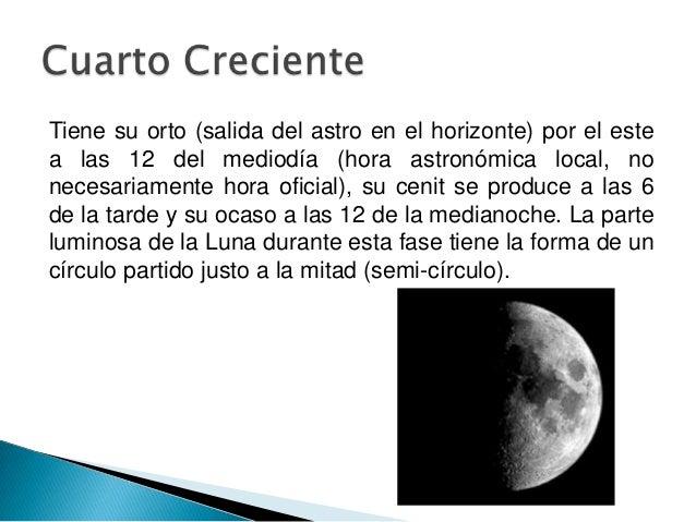 Fases de la luna for Que es luna creciente