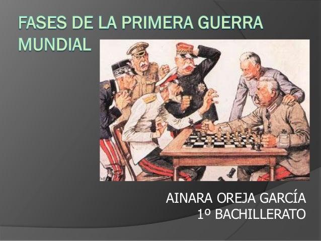 AINARA OREJA GARCÍA 1º BACHILLERATO