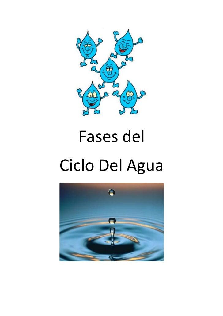 Fases del<br />Ciclo Del Agua<br />Fases del Ciclo del Agua<br />El ciclo del agua tiene una interacción constante con el ...