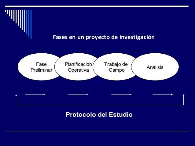 Fases en un proyecto de investigacion for Proyecto de criadero de mojarras