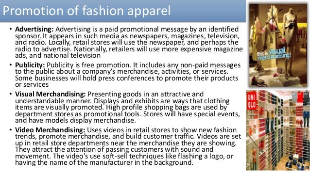 Fashion Apparel A Comprehensive Study