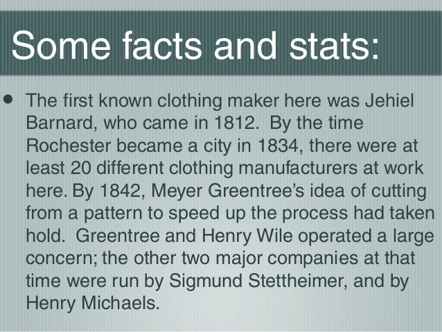 Fashion Facts From Rochester NY
