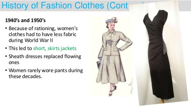How Clothes Rationing Affected Fashion 41