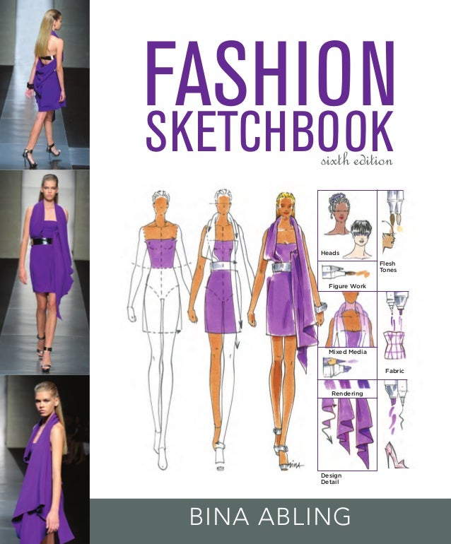Fashion sketchbook for Fashion sketchbook with templates