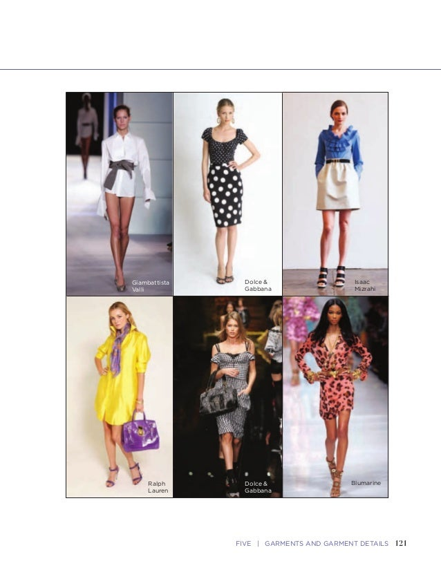 121FIVE   GARMENTS AND GARMENT DETAILS120 FASHION SKETCHBOOK Blouses, Skirts, and Dresses Blouses • Neckline and Shoulderi...
