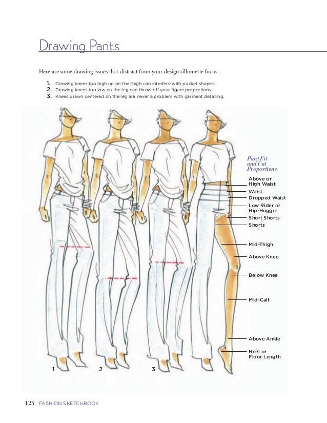 drawn fashion figures