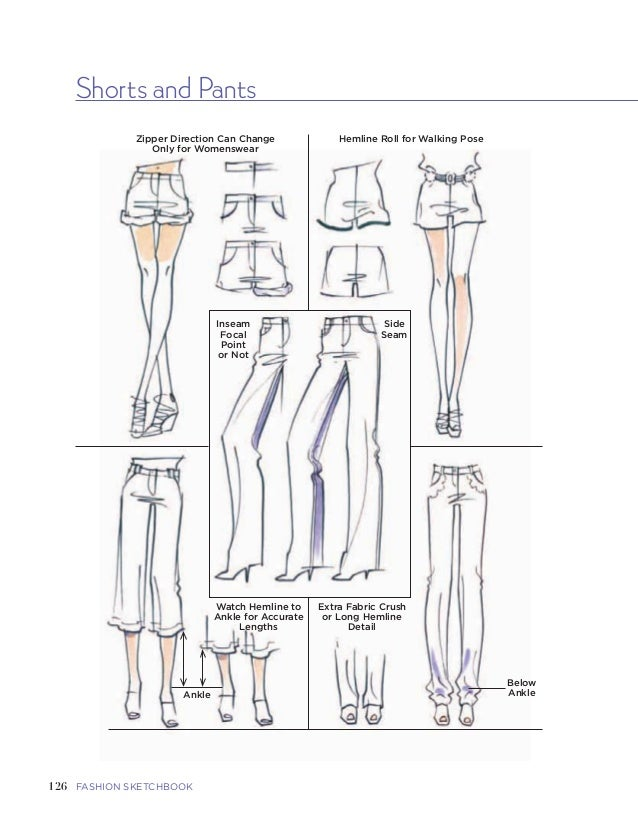 Fashion sketchbook 36 127five garments and garment detailsfashion sketchbook fandeluxe Image collections