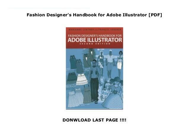 Fashion Designer S Handbook For Adobe Illustrator Pdf