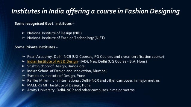 Fashion Designing Course A Trending Career