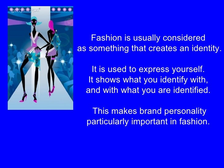 Fashion Marketing Week 5 Lecture