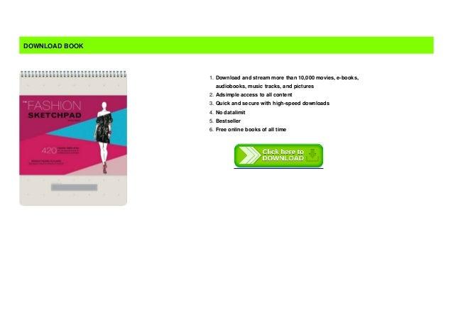B O O K Fashion Sketchpad 420 Figure Templates For Designing Cloth