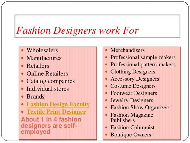 Skills to be a fashion designer 49