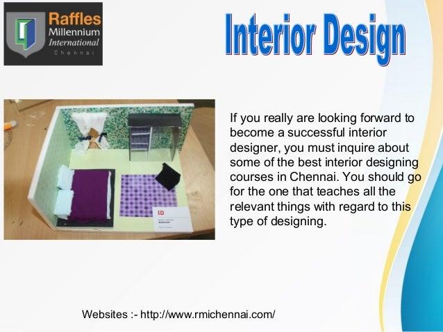 Fashion and interior design courses in chennai for Interior designers courses in chennai