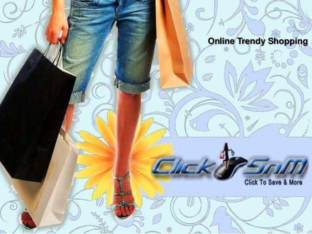 Online Trendy Shopping