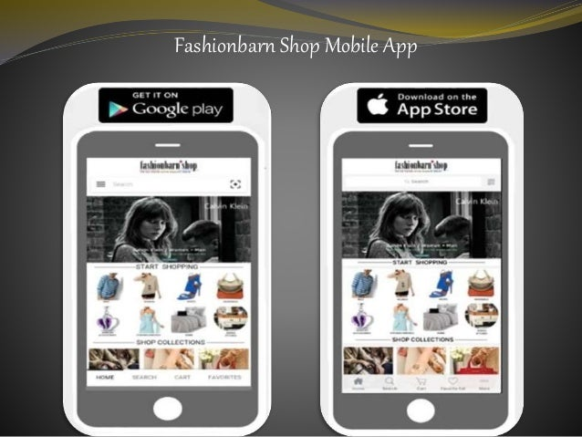 Fashionbarn Shop Mobile App