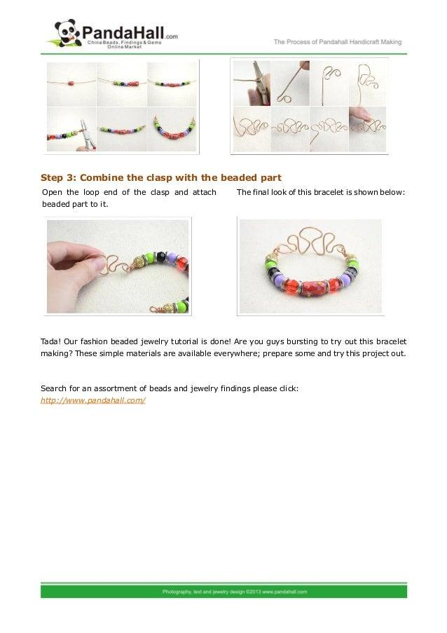 Fashion beaded jewelry multi-styled beaded bracelets making