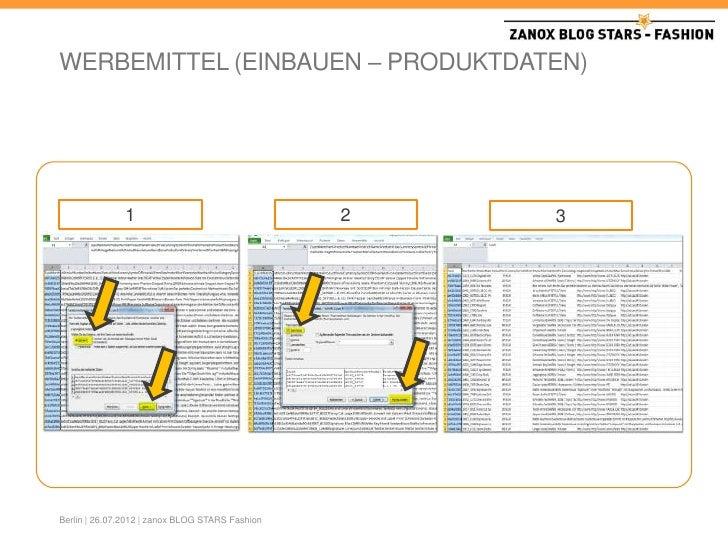 Zanox Partnerprogramme
