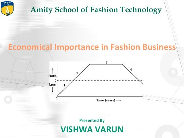 Economical Importance in Fashion Industry