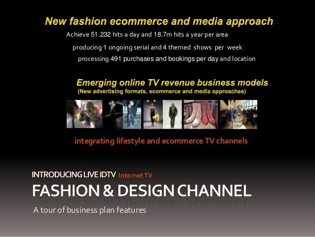 Fashion design channel lifestyle and ecommerce tv 1 for Lifestyle e commerce