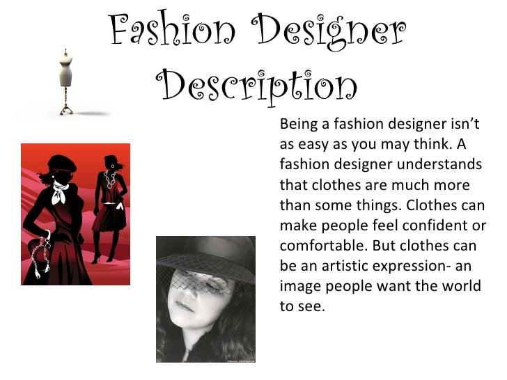 Fashion Designer Emilia