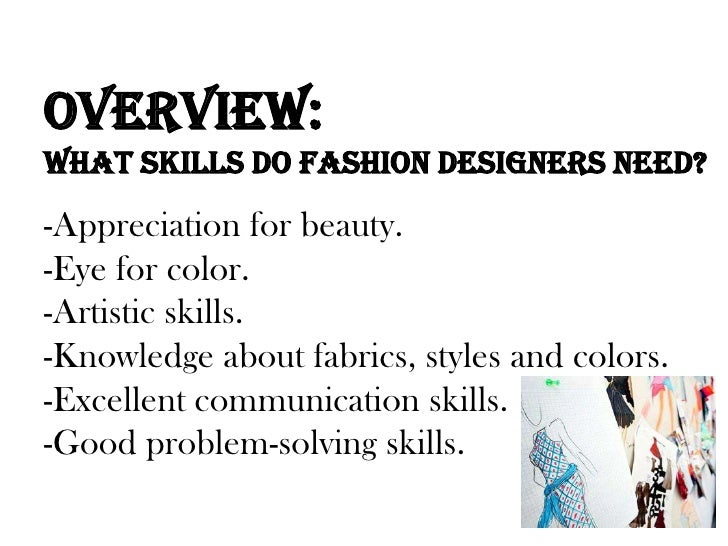 Fashion designers Associates degree in fashion design online