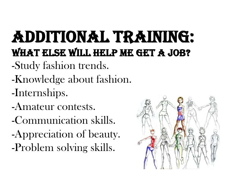 education - Fashion Designer Education And Training