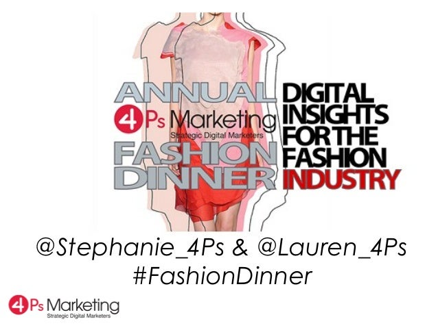 @Stephanie_4Ps & @Lauren_4Ps#FashionDinner